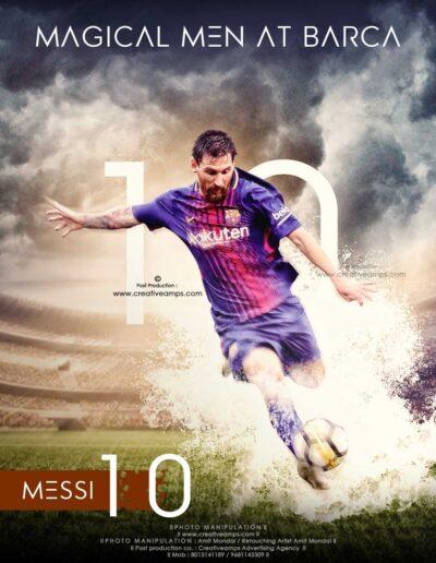 Sports-Wallpaper-Design-l-Messi-Poster-l-Photoshop-tutorial